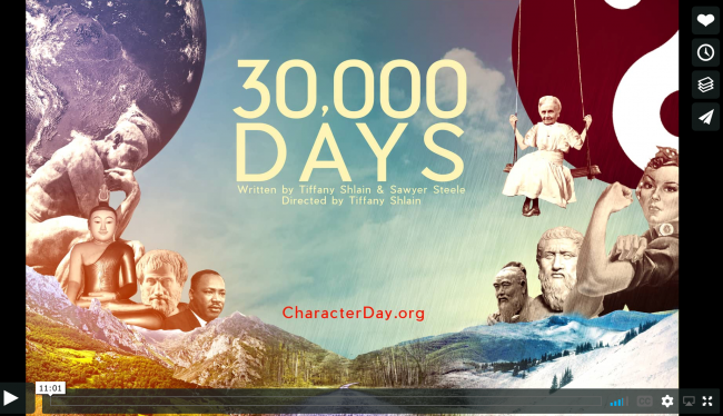 30000 Days - New 11 min film about Living Life with Meaning & Purpose